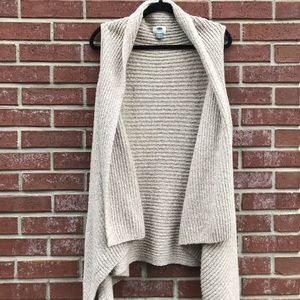 OLD NAVY sleeveless sweater cardi